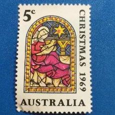 Sellos: SELLO DE AUSTRALIA. AÑO 1969. NAVIDAD. YVERT 392. Lote 221475977