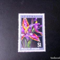 Sellos: AUSTRALIA 1986, ORQUÍDEA, FLORES DE AUSTRALIA, YT 976. Lote 221778252