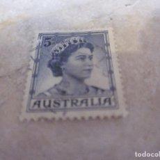 Sellos: SELLO 2 PENNY AUSTRALIA 1959 - REINA ISABEL II. Lote 222297360