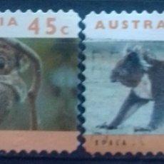 Sellos: AUSTRALIA KOALAS SERIE DE SELLOS USADOS. Lote 222407775