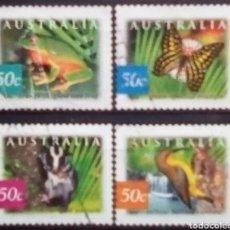 Sellos: AUSTRALIA FAUNA SERIE DE SELLOS USADOS TIPO A. Lote 222407888