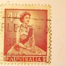 Sellos: AUSTRALIA 1959 ISABEL II. Lote 223028310