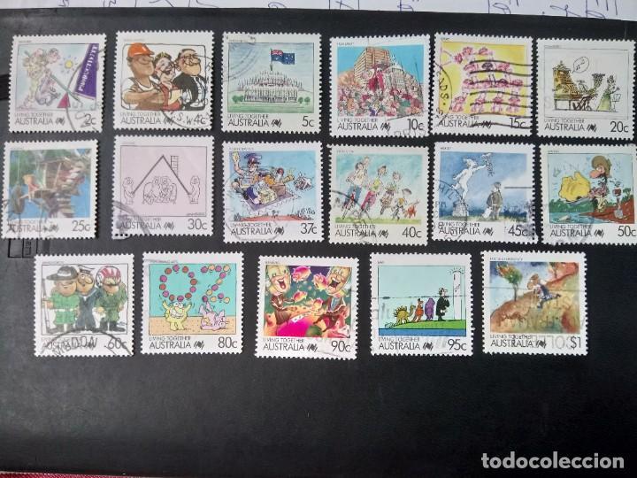 AUSTRALIA 1988, LA VIDA EN AUSTRALIA (Sellos - Extranjero - Oceanía - Australia)