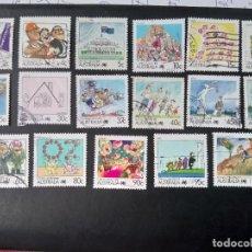 Sellos: AUSTRALIA 1988, LA VIDA EN AUSTRALIA. Lote 230668400