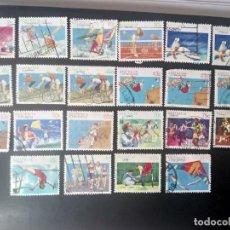 Sellos: AUSTRALIA 1989/94, DEPORTES. Lote 231147925