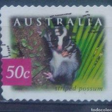 Sellos: AUSTRALIA POSSUM SELLO USADO. Lote 234297210