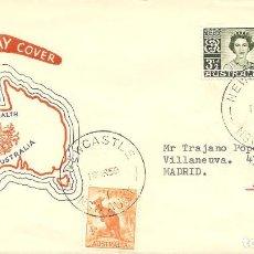 Sellos: SPD -FDC, AUSTRALIA, 1959,. Lote 234955340