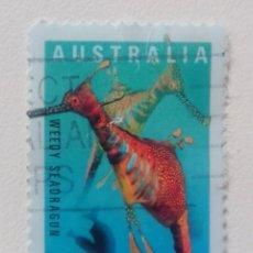 Sellos: AUSTRALIA 1998 FAUNA MARINA SELLO USADO. Lote 263881155