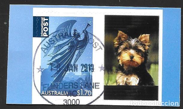 AUSTRALIA - SELLO PERSONALIZADO (Sellos - Extranjero - Oceanía - Australia)