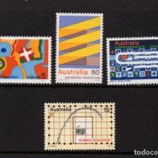 Sellos: AUSTRALIA 549/52** - AÑO 1974 - LA EDUCACION EN AUSTRALIA. Lote 243858085