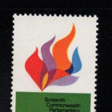 Sellos: AUSTRALIA 420** - AÑO 1970 - CONFERENCIA PARLAMENTARIA DE LA COMMONWEALTH. Lote 245057945