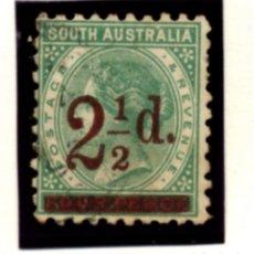Sellos: AUSTRALIA - LOTE DE 225 SELLOS USADOS - VER FOTOS DE TODOS ELLOS - LEER. Lote 245090935