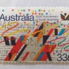 Sellos: SELLO DE AUSTRALIA. YVERT 935. 150 ANIVERSARIO DEL SUR DE AUSTRALIA. Lote 245446915