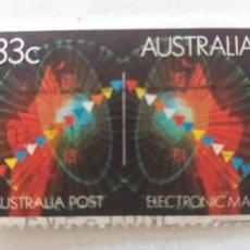 Sellos: USADO. AUSTRALIA. YVERT 921. AÑO 1985. CORREO ELECTRONICO AUSTRALIANO. Lote 245612765