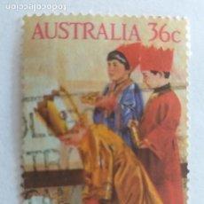 Sellos: USADO. AUSTRALIA. AÑO 1986. YVERT 982. NIÑOS. INFANCIA. Lote 245614915