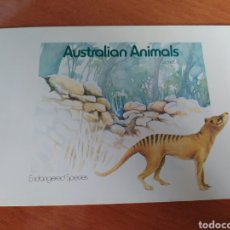 Sellos: LOTE SELLOS AUSTRALIA. ANIMALES EN PELIGRO DE EXTINCIÓN. Lote 246257220