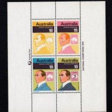 Sellos: AUSTRALIA HB 4** - AÑO 1976 - SEMANA NACIONAL DEL SELLO. Lote 246539505