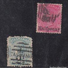 Sellos: TASMANIA 47/8 USADA, VICTORIA,. Lote 254205310