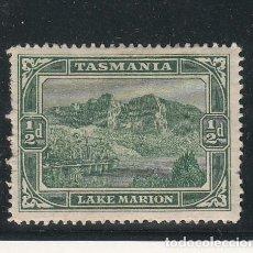 Sellos: TASMANIA 59 CON CHARNELA, LAGO MARION,. Lote 254206075