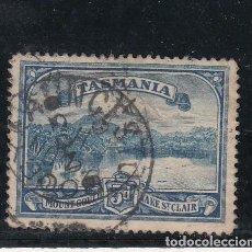 Sellos: TASMANIA 65 USADA, VISTAS,. Lote 254206930
