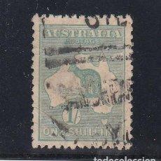 Sellos: AUSTRALIA ..10 USADA, FAUNA, CANGURO. Lote 254589620