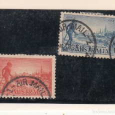 Sellos: AUSTRALIA ..94/5 USADA, CENTENARIO COLONIA DE VICTORIA,. Lote 254630435