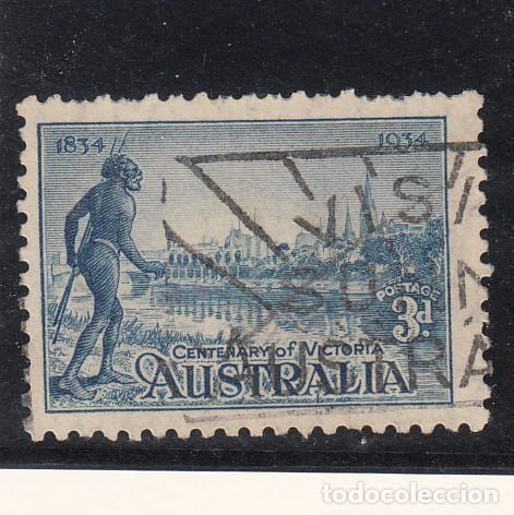 AUSTRALIA ..95 USADA, CENTENARIO COLONIA DE VICTORIA, (Sellos - Extranjero - Oceanía - Australia)