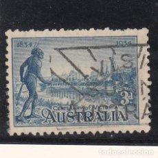 Sellos: AUSTRALIA ..95 USADA, CENTENARIO COLONIA DE VICTORIA,. Lote 254630535