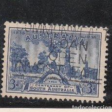 Sellos: AUSTRALIA .108 USADA, CENTENARIO COLONIA DE AUSTRALIA DEL SUR. Lote 254630685