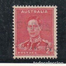 Sellos: AUSTRALIA .128A USADA, JORGE VI. Lote 254630835