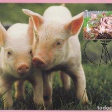 Sellos: AUSTRALIA TARJETA FAUNA PRIMER DIA 4/10/2005. Lote 254631075