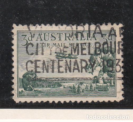 AUSTRALIA A .2 USADA, AVION, (Sellos - Extranjero - Oceanía - Australia)