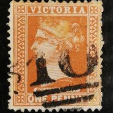 Sellos: AUSTRALIA, AÑO 1899 USADO (FOTOGRAFÍA REAL). Lote 257638370