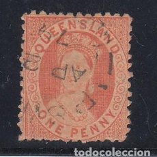 Sellos: QUEENSLAND COLONIA BRITÁNICA 30 USADA, VICTORIA. Lote 257708180