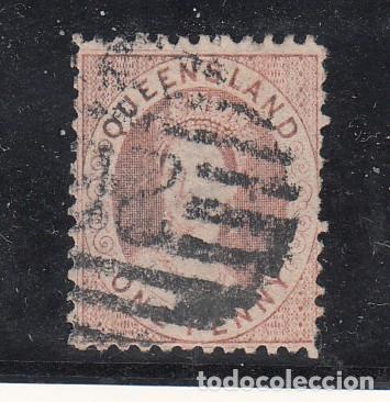 QUEENSLAND COLONIA BRITÁNICA 30 USADA, VICTORIA (Sellos - Extranjero - Oceanía - Australia)