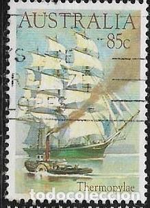AUSTRALIA YVERT 860, BARCOS (Sellos - Extranjero - Oceanía - Australia)