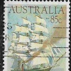 Sellos: AUSTRALIA YVERT 860, BARCOS. Lote 260557640