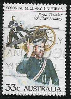 AUSTRALIA YVERT 893/97 SERIE COMPLETA, UNIFORMES MILITARES (Sellos - Extranjero - Oceanía - Australia)