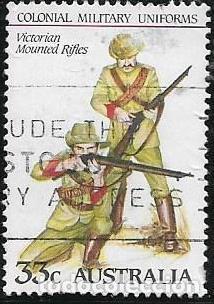 Sellos: AUSTRALIA YVERT 893/97 SERIE COMPLETA, UNIFORMES MILITARES - Foto 5 - 260559295