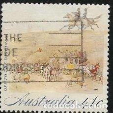 Sellos: AUSTRALIA YVERT 1168/72 SERIE COMPLETA. Lote 260708675