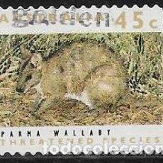Sellos: AUSTRALIA YVERT 1256, FAUNA. Lote 260865730
