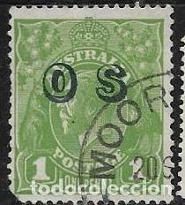 AUSTRALIA SERVICIO YVERT 56 (Sellos - Extranjero - Oceanía - Australia)