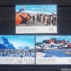 Sellos: AUSTRALIA TERRITORIO ANTÁRTICO 2004 SERIE DE SELLOS USADOS. Lote 261162385