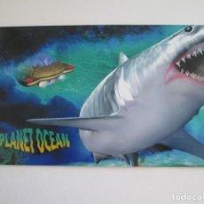 Sellos: ER * AUSTRALIA * FOLDER CON DOS HOJITAS PLANET OCEAN * 1992. Lote 263184185