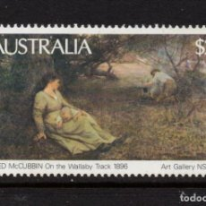Sellos: AUSTRALIA 739** - AÑO 1981 - PINTURA AUSTRALIANA. Lote 263584650