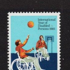 Sellos: AUSTRALIA 746** - AÑO 1981 - AÑO INTERNACIONAL DEL MINUSVALIDO. Lote 263584850