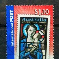Sellos: AUSTRALIA NAVIDAD TARIFA INTERNACIONAL SELLO USADO. Lote 271502468