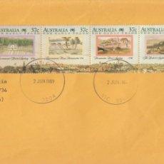 Sellos: CORREO AEREO: AUSTRALIA 1989. Lote 277046233