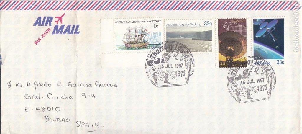 CORREO AEREO: AUSTRALIA 1987 (Sellos - Extranjero - Oceanía - Australia)
