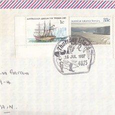 Sellos: CORREO AEREO: AUSTRALIA 1987. Lote 277127798